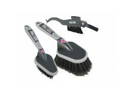 MUC-OFF 3x brush set harjasetti