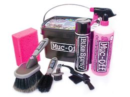 MUC-OFF 8-1 bike cleaning kit pyöränpesusetti